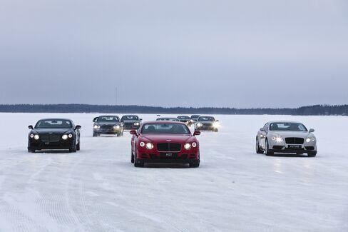 Bentley's Power on Ice in Ruka Peak.