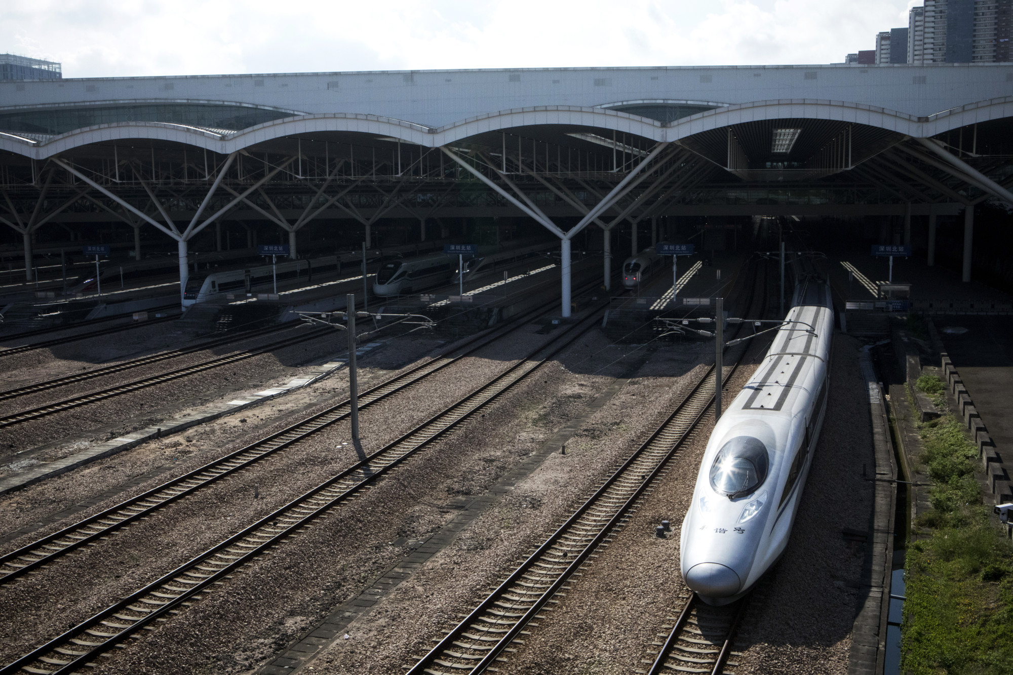China's Bullet Trains Are Coming For Hong Kong's Airlines