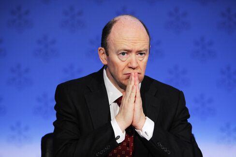 John Cryan, co-Chief Executive Officer of Deutsche Bank. Photographer: Sebastian Derungs/AFP/Getty Images