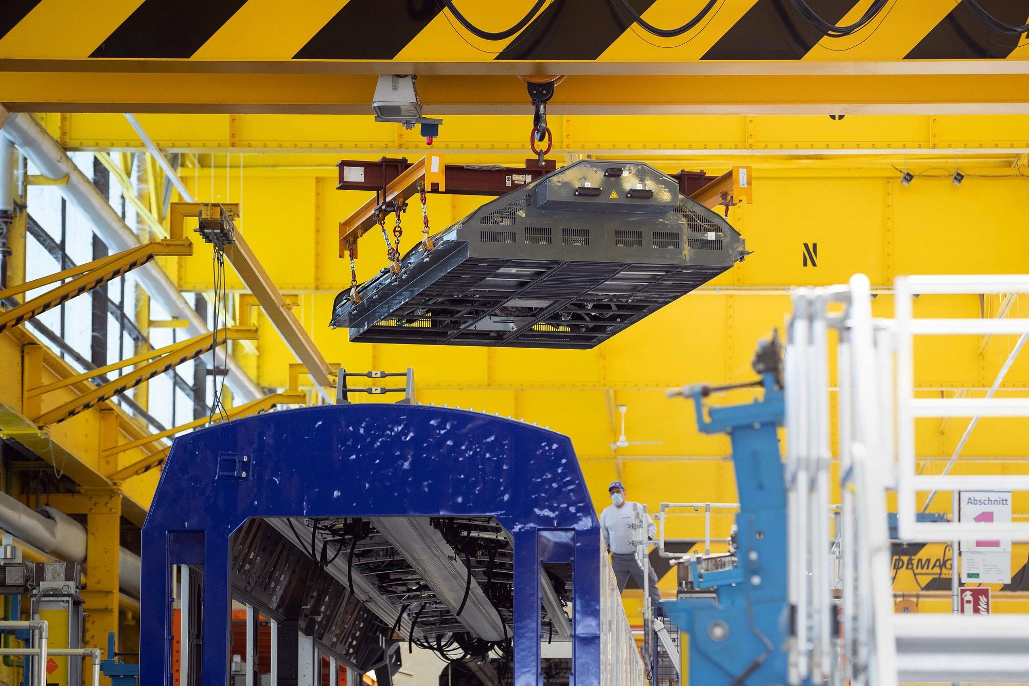 Alstom SA Wasserstoffmontage von Zügen und Betrieben