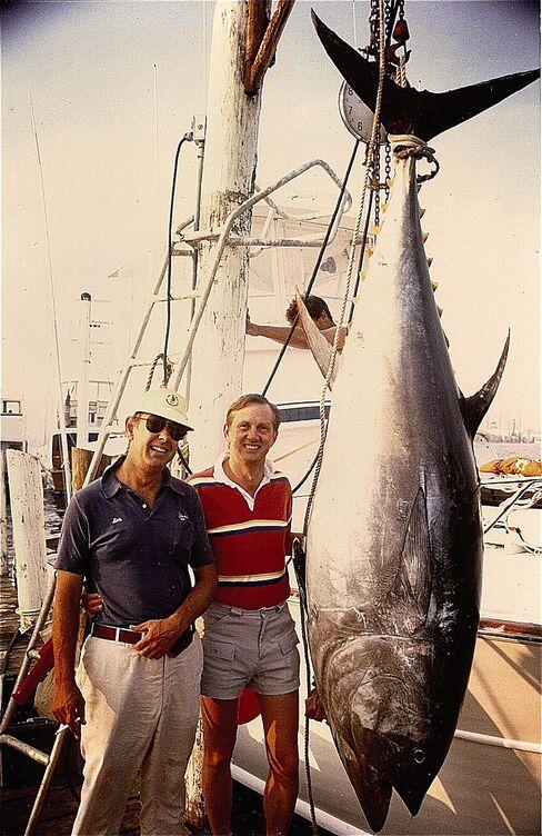 When Stott wasn't trading, he was sport fishing.