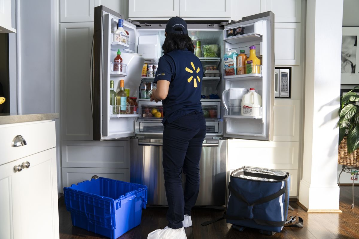 <p>Walmart Expands Delivery to Your Fridge, Pandemic Be Damned thumbnail