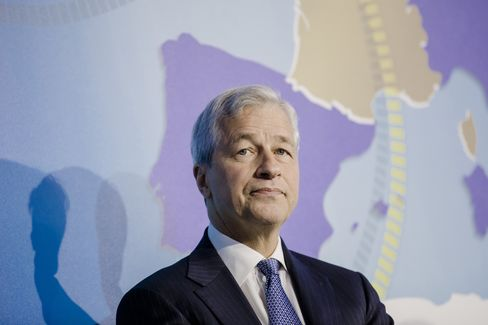 Jamie Dimon in Paris, July 11.