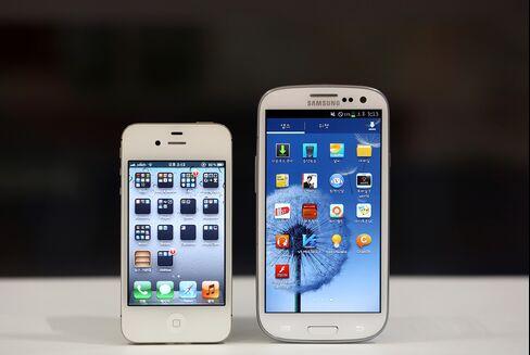 Apple 4S & Samsung Galaxy S III