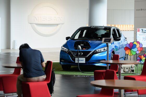 Nissan CEO Says $1.4 Billion U.K. EV-Making Hub 'Just a Start'