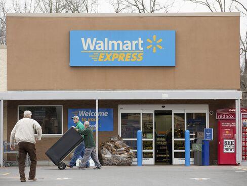A Wal-Mart Express