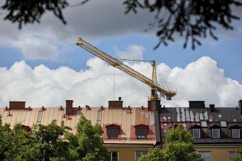 Stock On Sweden's Residential Housing Market
