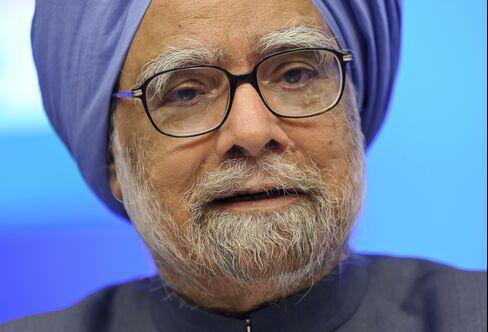 India's Prime Minister Manmohan Singh