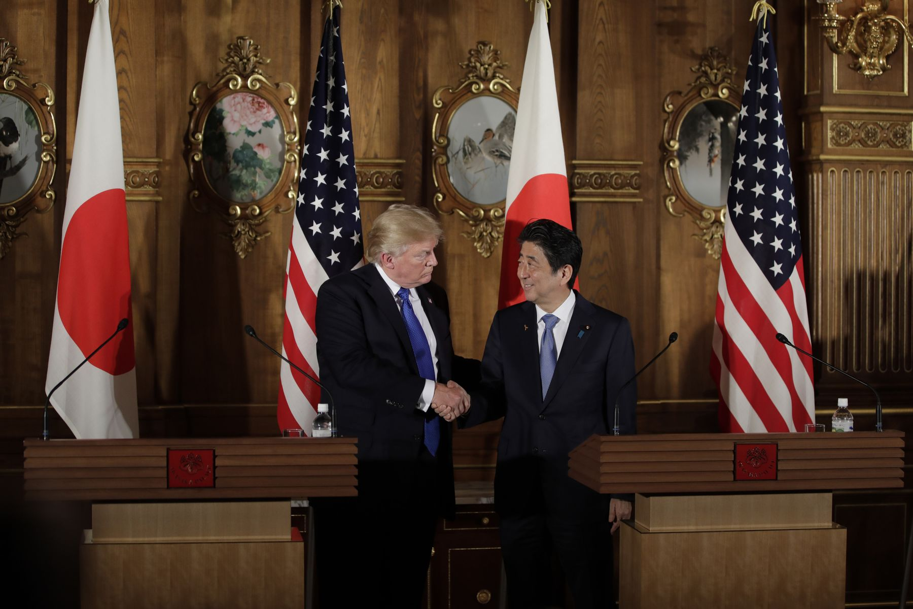Trump tells Japan it's time to reduce U.S. trade deficit