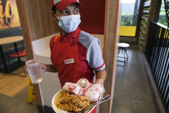 Philippine Fried Chicken King Targets Expansion After Covid
