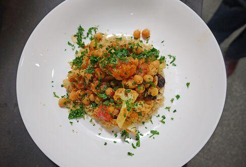 Jamie's Sicilian Cauliflower from Hello Fresh.