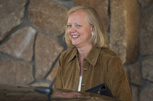 HP's Whitman Said Planning Cloud-to-Tablet Push to Revive Growth