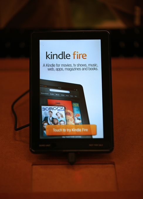 Amazon's First-Quarter Revenue Tops Estimates on Kindle Sales
