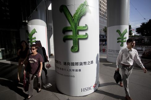 Offshore Yuan Drops Most Since 2011 as Forex Scrutiny Stepped Up
