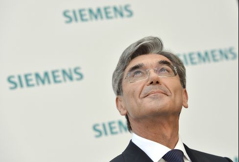 Siemens AG CEO Joe Kaese