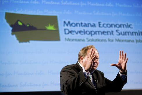 Montana's Schweitzer Says Obama Should Run on Economic Record