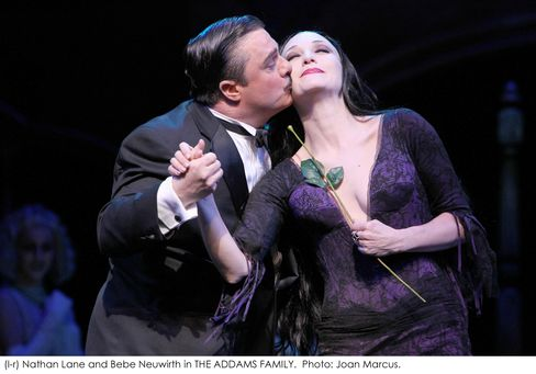 Nathan Lane and Bebe Neuwirth in