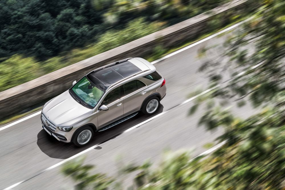 2020 Mercedes GLE 450 SUV Review: Not Sexy, But Important - Bloomberg