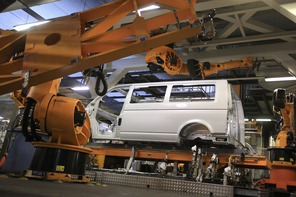 VW Transporter.