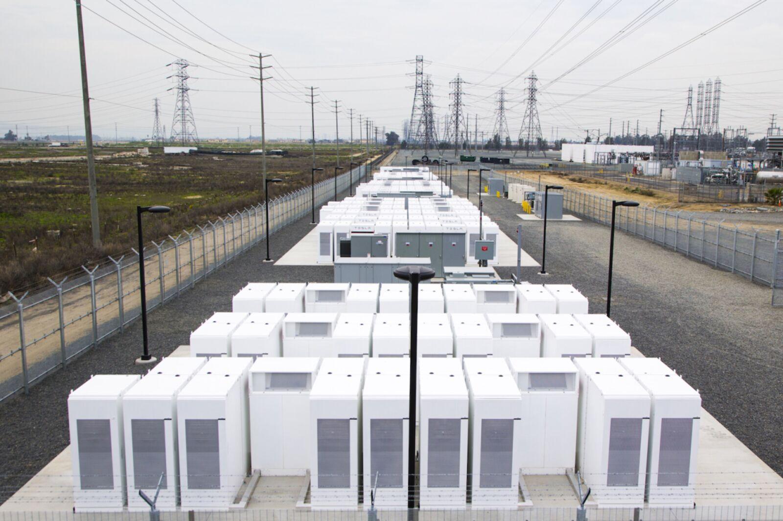 Southern California Edison/Tesla battery-storage power plant