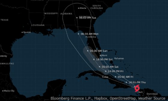 Weakened Tropical Depression Fred Will Soak Florida Friday