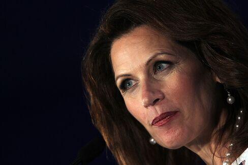 Republican Presidential Candidate Michele Bachmann