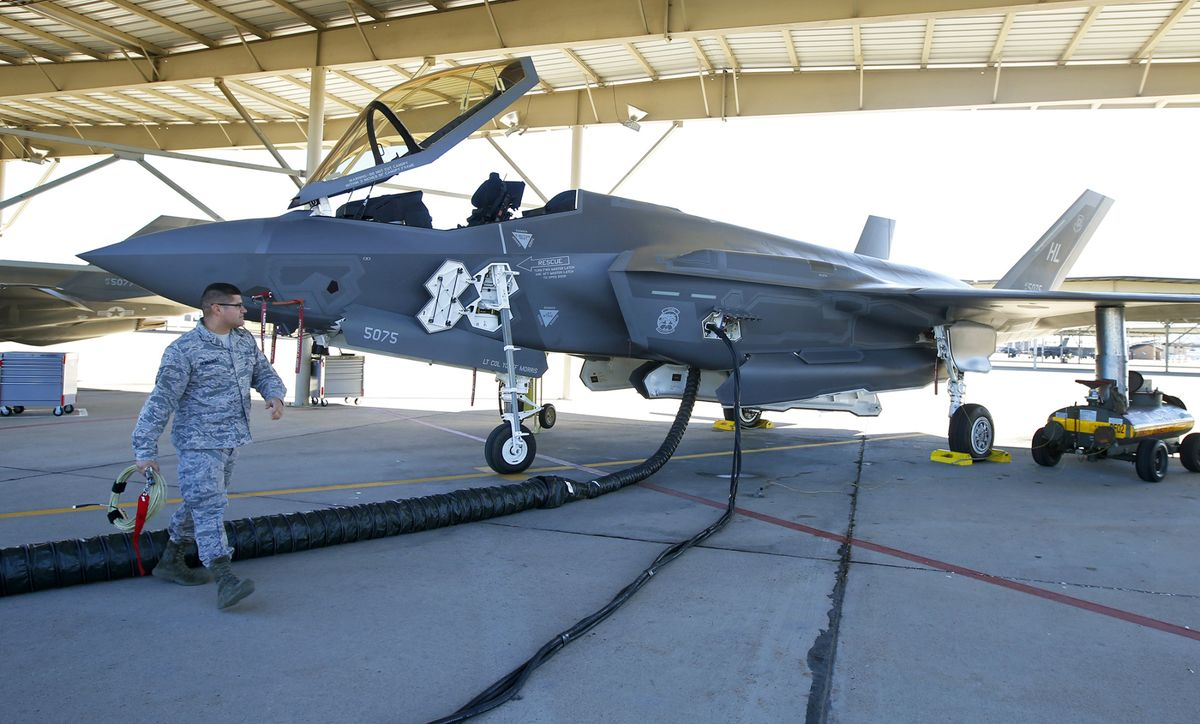 F-35s Hobbled by Parts Shortages, Slow Repairs, Audit Finds
