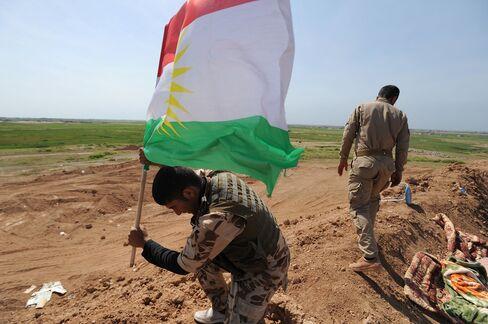 Iraqi Kurdish Forces Launch Offensive Against ISIS Near Kirkuk