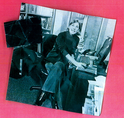 Warren in her Harvard office, right before she joined a 2008 congressional oversight panel on bailout funds