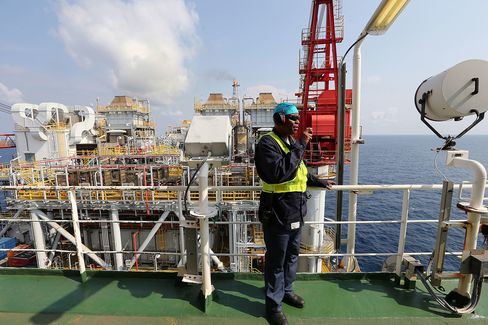 Offshore Oil Production In Nigeria's Agbami Deepwater Oilfield