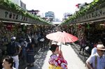 Tourists in Asakusa as Visitor Numbers to Japan Slump to Slowest Growth in More Than 5 Years