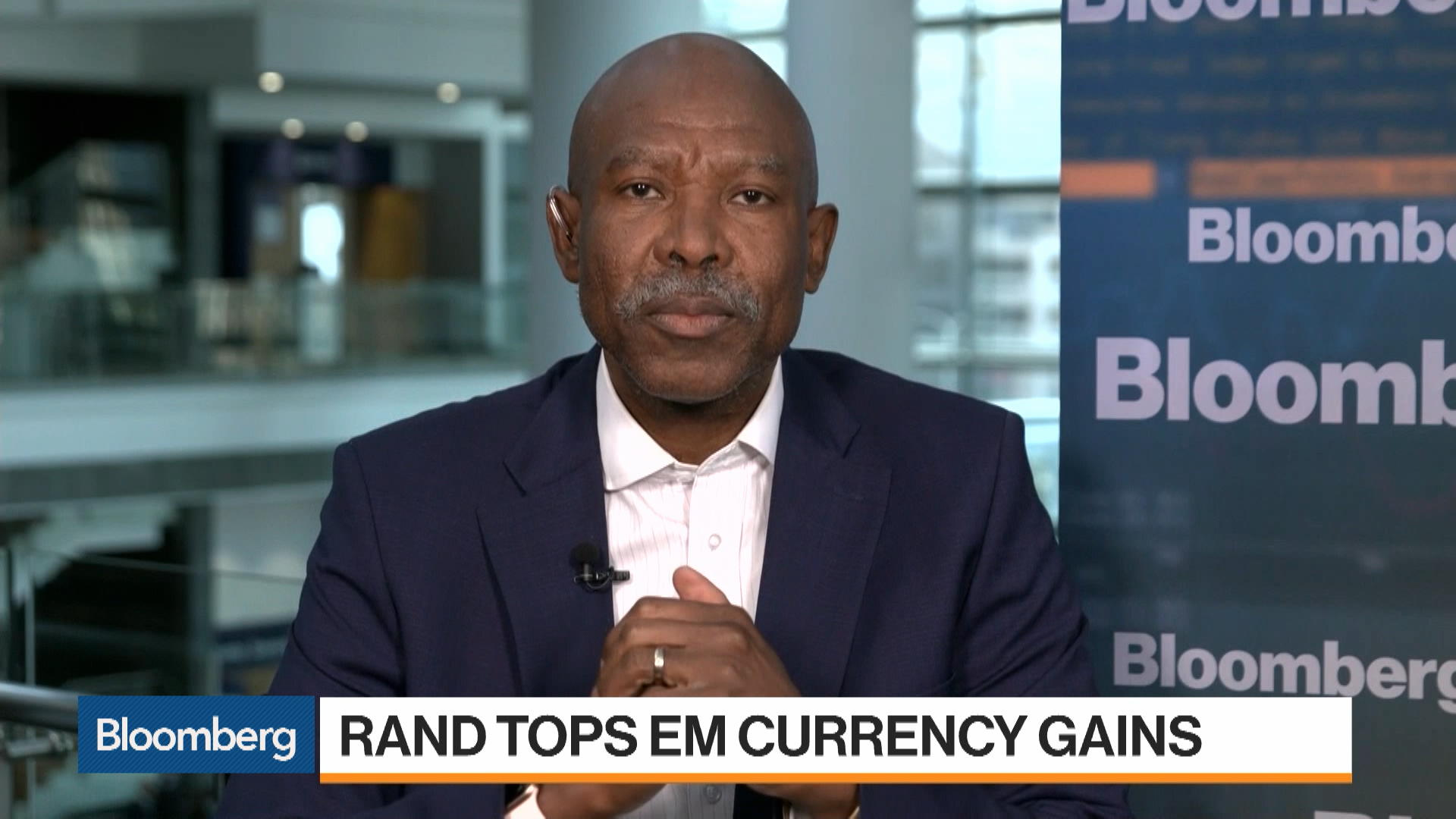 South African Reserve Bank Governor Lesetja Kganyago Says Policy Still Accommodative