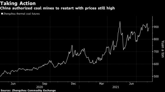 China Will Restart Coal Mines Including in Xinjiang as Power Demand Surges