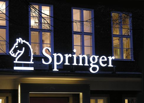 BC Partners to Acquire Springer Science for $4.4 Billion