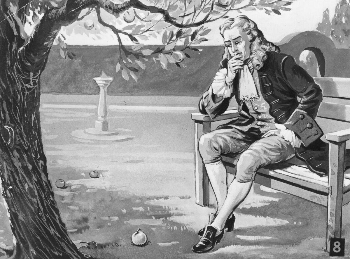 Newton Foresaw the Crash in Momentum Stocks