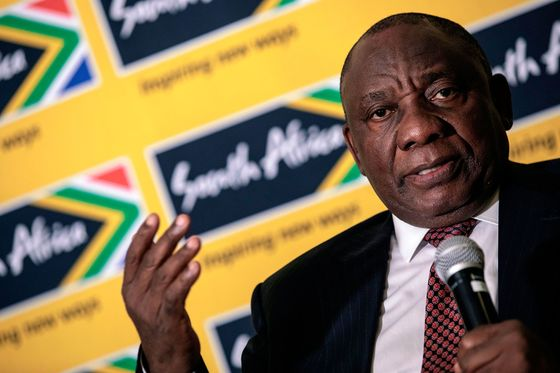 S. African President Says He Was Wrong About Son's Payment