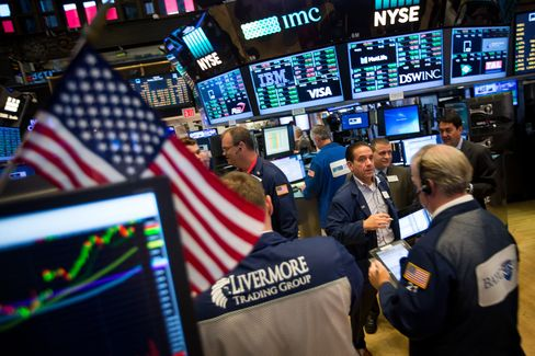 ニューヨーク証券取引所内
