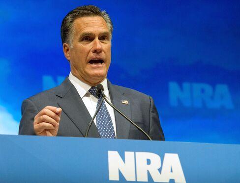 Republican Presidential Hopeful Mitt Romney