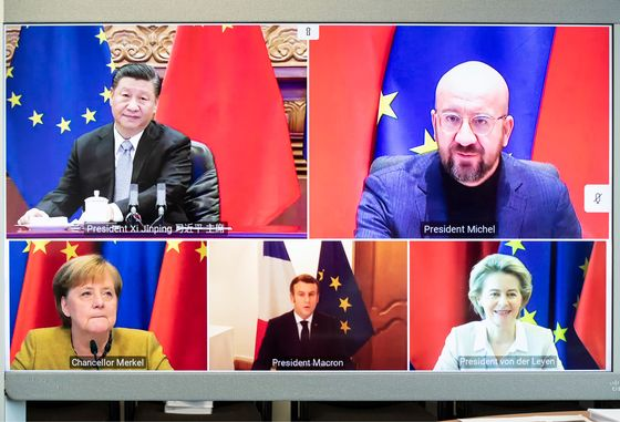 China Confirms Discussions on Video Summit With France, Germany