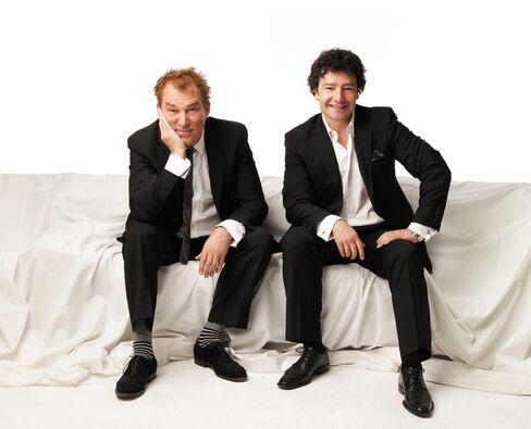 Des McAnuff and Antoni Cimolino