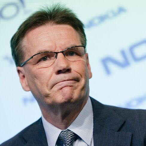 Olli-Pekka Kallasvuo, CEO of Nokia