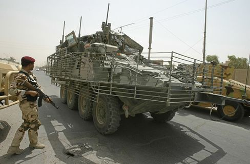General Dynamics Stryker To Be Sold Iraq in First Foreign Sale