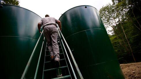 Bradford, Pennsylvania And Gas Oil Boom For Minard Run Oil Company