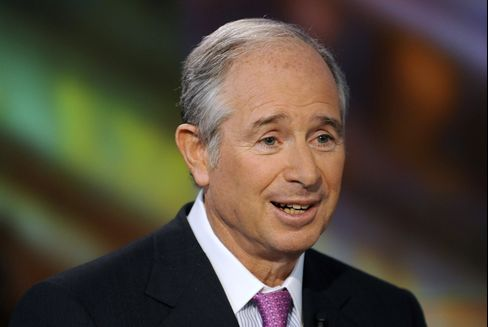 Blackstone Group CEO Schwarzman