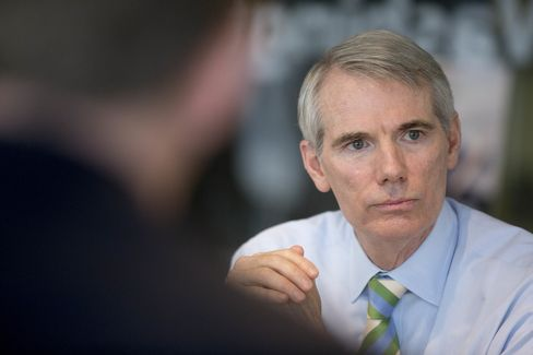 Portman Says Clinton May Be Too Mainstream for Democratic Party