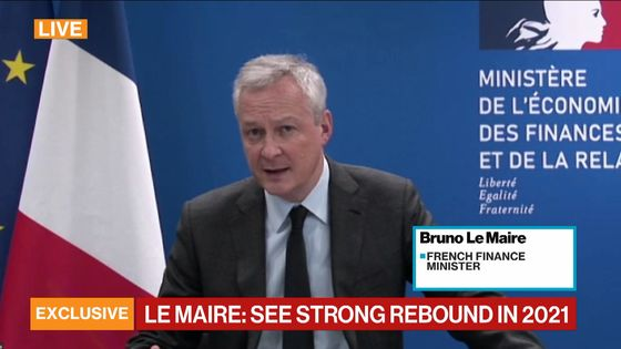 EU Recovery Logjam Publicly Slammed by Le Maire as G-20 Meets