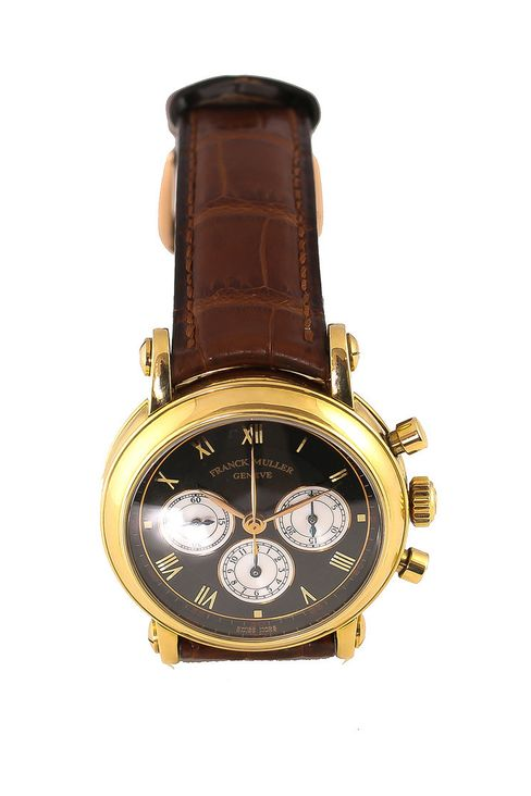 Franck Muller ref. 3870 in yellow gold. $19,050