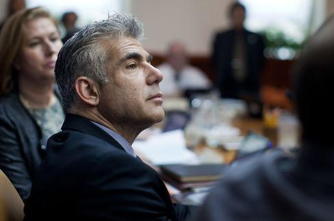 Israeli Finance Minister Yair Lapid