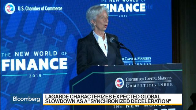 Taking Stock of the Risks to 'Precarious' Global Growth Will Top Agenda at IMF Meeting