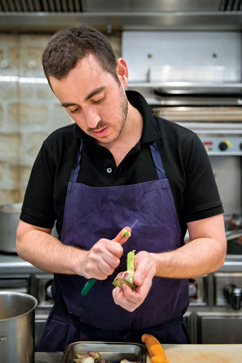 Chef Daniel Rose.